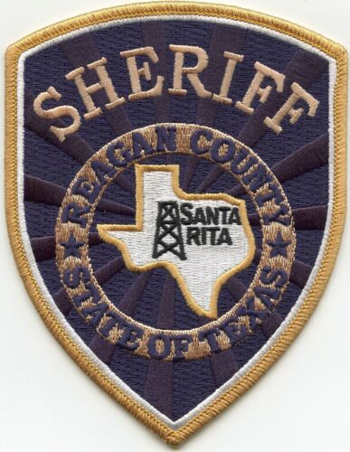 REAGAN COUNTY TEXAS TX SHERIFF POLICE PATCH