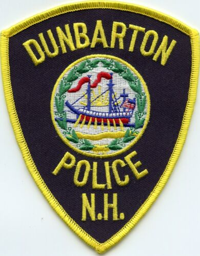 DUNBARTON NEW HAMPSHIRE NH POLICE PATCH