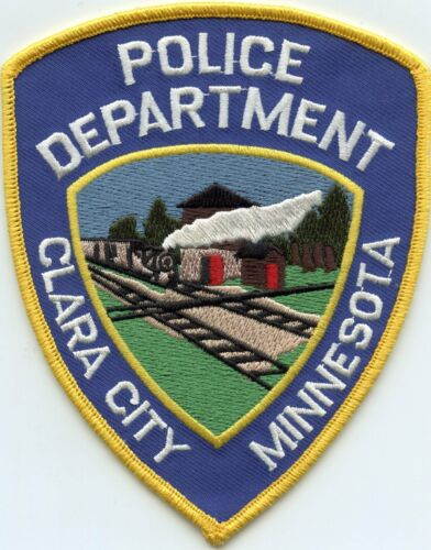 CLARA CITY MINNESOTA MN POLICE PATCH