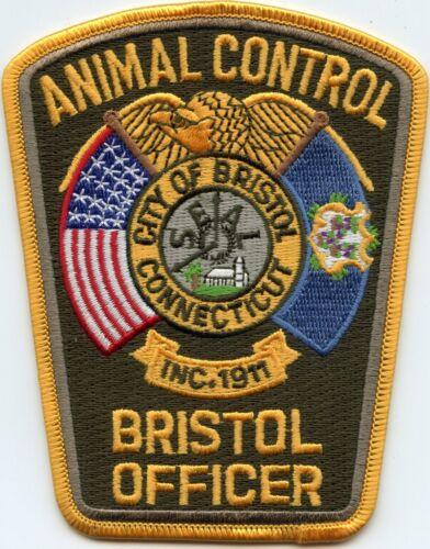 BRISTOL CONNECTICUT ANIMAL CONTROL POLICE PATCH