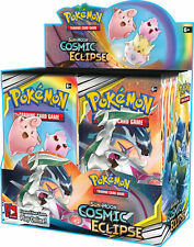 Cosmic Eclipse Booster Box Pokemon English Sealed