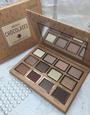 Limited Edition Eye Shadow Paletten (Catrice ADDICTED TO CHOCOLATES Eyeshadow Palette Limited Edition 12,5g *neu*🍫🍩)