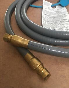 """Natural Gas 12' BBQ 1/2"""" hose"""