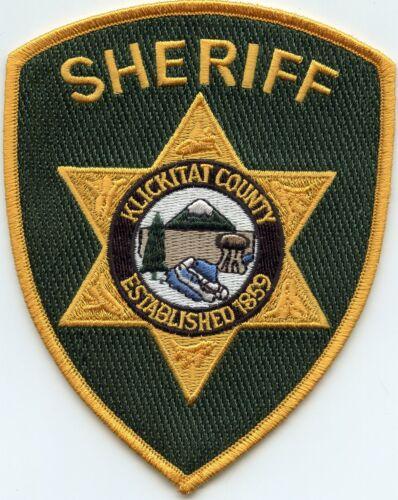 KLICKITAT COUNTY WASHINGTON WA SHERIFF POLICE PATCH