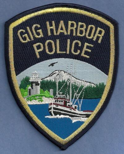 GIG HARBOR WASHINGTON POLICE SHOULDER PATCH