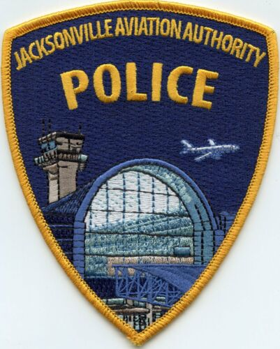 JACKSONVILLE FLORIDA FL AVIATION AIRPORT POLICE PATCH