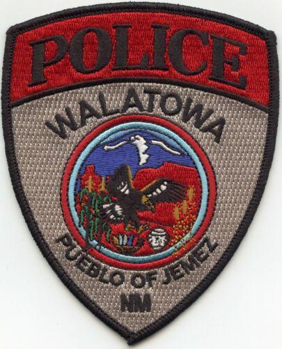 WALATOWA Pueblo of Jemez NEW MEXICO NM TRIBAL POLICE PATCH