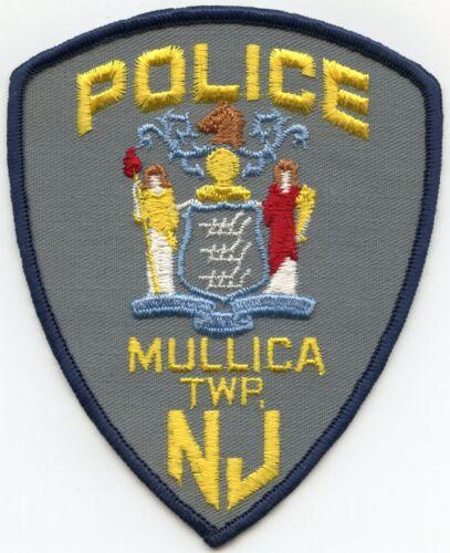 MULLICA TOWNSHIP NEW JERSEY NJ POLICE PATCH