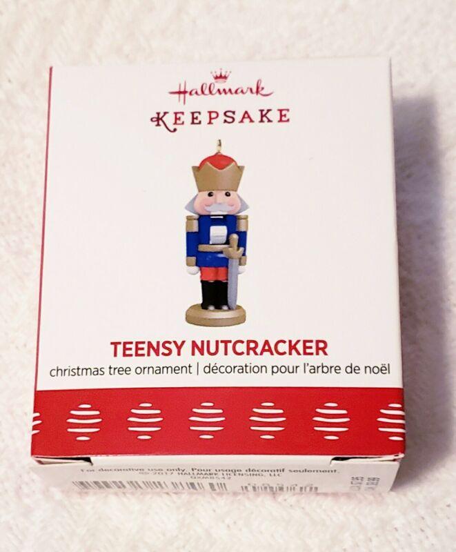 Hallmark Keepsake Miniature Ornament Teensy Nutcracker