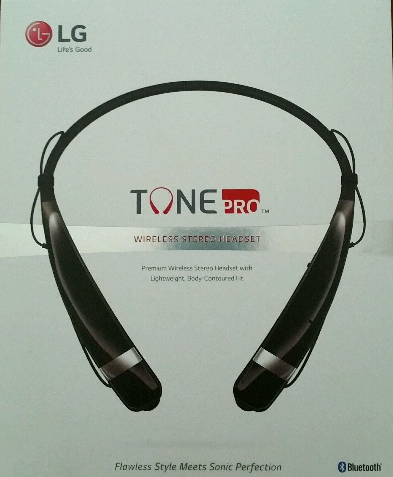 New LG Tone HBS-760 Bluetooth Wireless Headset BLACK