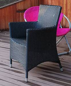 Big outdoor table with 8 matched chairs Templestowe Manningham Area Preview