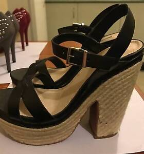 RMK black leather Ipanema shoes Milsons Point North Sydney Area Preview