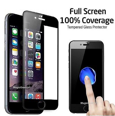 Full Coverage Tempered Glass Film Screen Protector for iPhone 6 / 6S / 6 Plus 7
