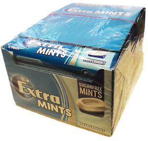 Wrigley's 24 packs Peppermint Sugar Free MINTS  Wrigleys Extramints