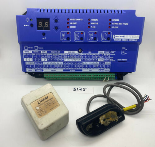 Linear AM-3 Access Controller - Includes transformer & card reader
