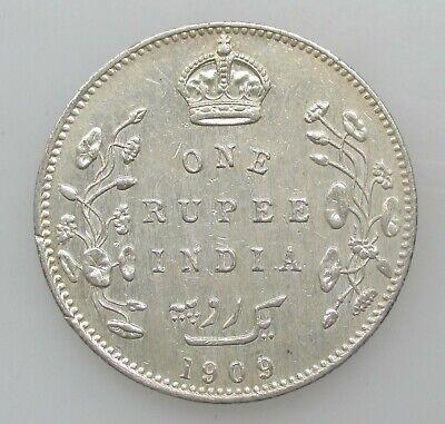 British India 1 Rupee 1909 Edward VII