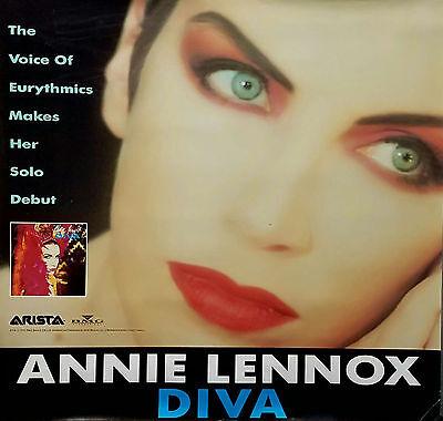 EURYTHMICS LENNOX 1992 DIVA JUMBO PROMO POSTER