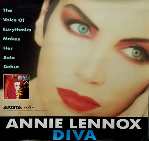 Eurythmics Annie Lennox 1992 Diva Original Jumbo Promo Poster