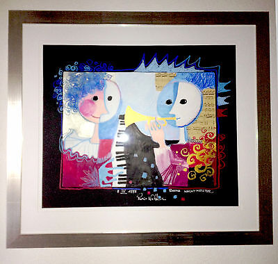 ROSINA WACHTMEISTER, Original Gemälde 60x50 cm, mit Rahmen