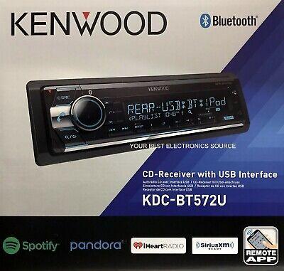 NEW Kenwood KDC-BT572U In Dash CD Receiver with Built in Bluetooth KDCBT572U segunda mano  Embacar hacia Argentina
