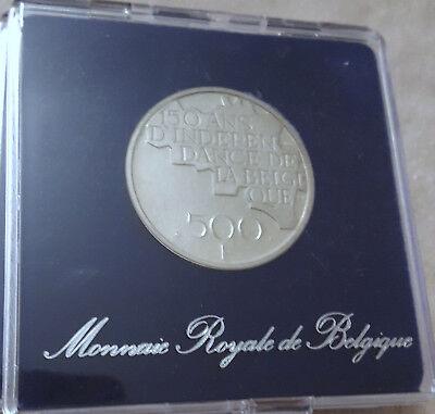 Belgium 500 francs 1980 QP Francais Argent Silver