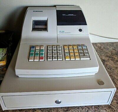 Samsung Er-290 Cash Register With All Keys