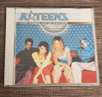 A-Teens The Abba Generation CD Album pop music 2000s mamma mia gimme gimme ateen