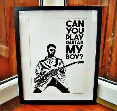 The Courteeners/Liam Fray/Fallowfield Hillbilly A3 size art print/poster
