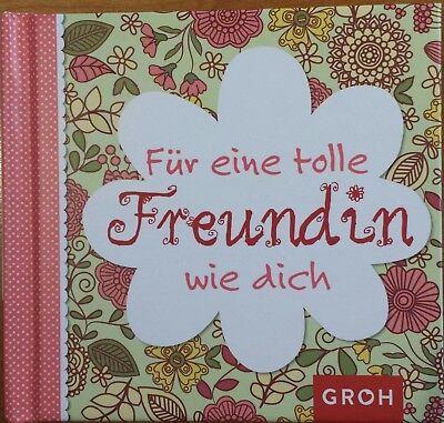 Für eine tolle Freundin wie dich, Geschenkbuch, NEU