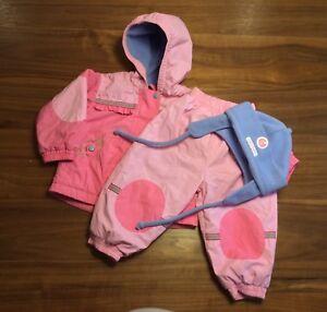 Lot vêtements bébé fille 12 mois automne/hiver