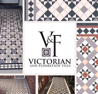 Victorian Federation Colonial Tesated Floor Tiles