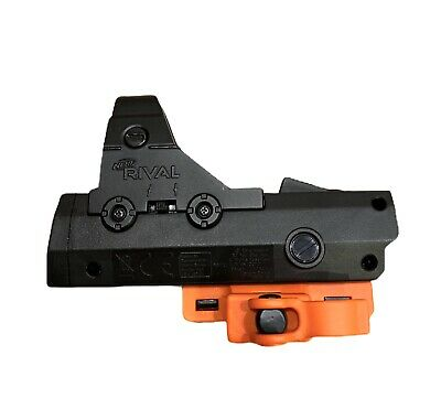 NERF Rival Red Dot Sight Pinpoint Reflex Sight Attachment Batteries