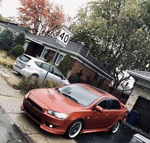 Mitsubishi Lancer 2011 SE manuel