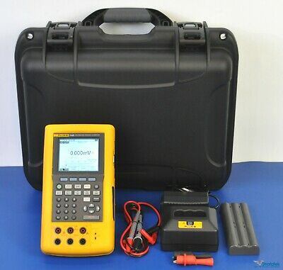 Fluke 743b Documenting Multifunction Process Calibrator - Nist Calibrated