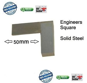 Engineers Square, Set, Metal, Steel, Precision, approx 50mm 2