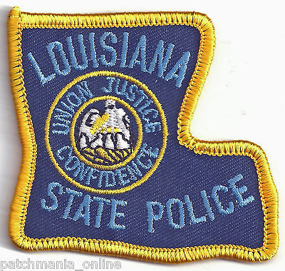 LOUISIANA STATE POLICE - CREST IRON / SEW PATCH