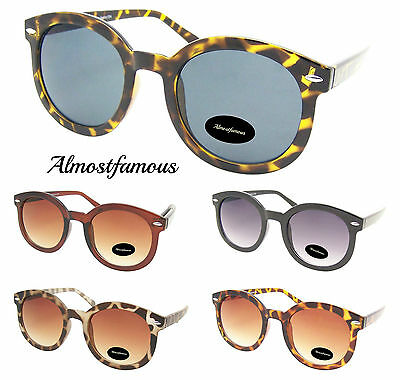 70's 80's Vintage Retro Fashion Round Oval Womens Hipster Hippie Sunglasses