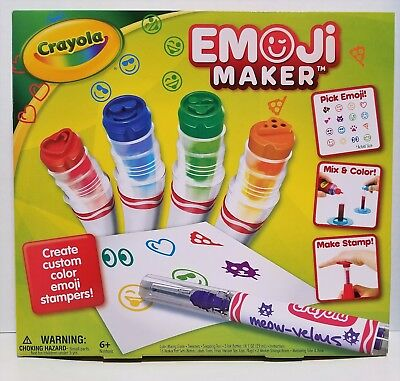 Crayola Stamp Markers (Crayola Emoji Maker, Marker Stamp Maker, Art Activity and Art)