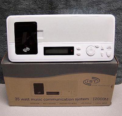 (8) Room I2000M Intercom Kit w/Wall Housing, Bluetooth, MP3 Dock