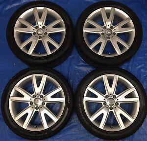 "2016 Mercedes CLS550 18"" OEM Rims & Winter Tires 95% *Perfect*"