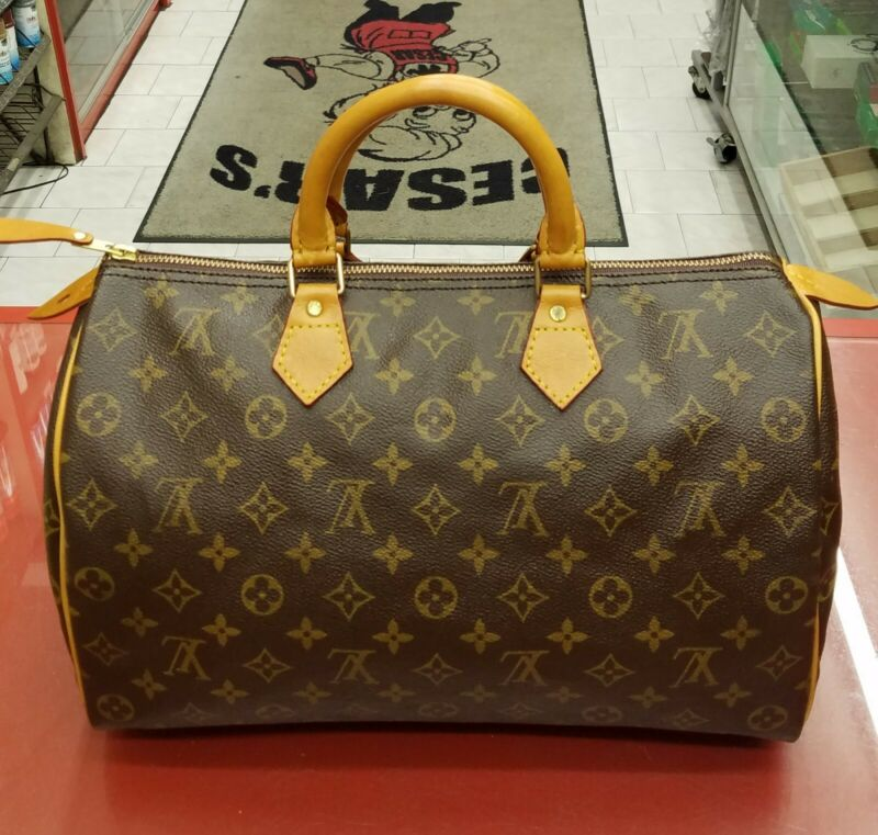 Louis Vuitton Speedy 25, 30, 35 Bag Repair Replacement Of All Leather Trimmings