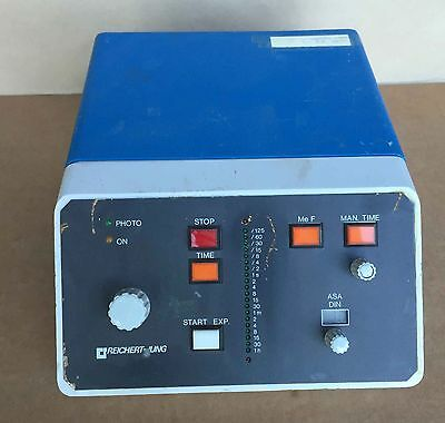 Reichert-jung 6526-0 Controller Photo Exposure Camera Unit For Microscopes 110