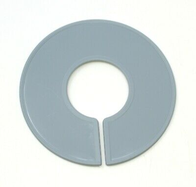 Grey Round Plastic Blank Rack Size Dividers - Multi-pack