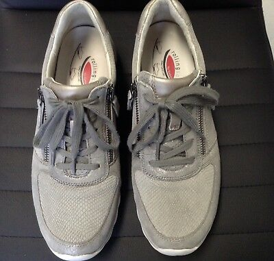 Gabor Rollingsoft Sneaker Damen Größe 40 grau