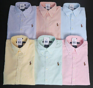 New polo ralph lauren womens long sleeve oxford button for Womens button up polo shirts