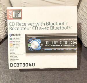 Car Dual CD Receiver with Bluetooth
