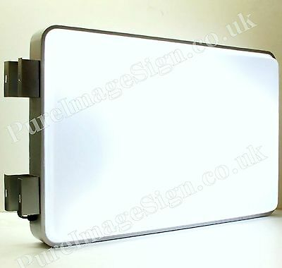 Led 60x90cm 24x36 Outdoor Projecting Illuminated Sign Blank Light Box