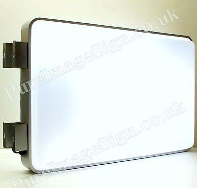 Led 60x90cm 24x36 Outdoor Projecting Illuminated Sign Blank Light Box
