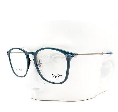 Ray-Ban RB 8954 8030 Graphene Eyeglasses Frame Glasses Matte Blue Gray (Ray Ban Plastic Frame Glasses)