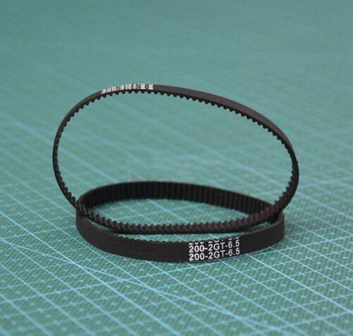 L:118mm 2270mm For RepRap Prusa Mendel 3D Printer GT2 Timing Belt 6mm Width